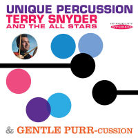 TERRY SNYDER UNIQUE PERCUSSION / GENTLE PURR-CUSSION (SEPIA 1279)